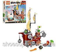 Конструктор Angry Birds Злые птички Пиратский корабль свинок: 650 деталей, 4 фигурки, фото 1