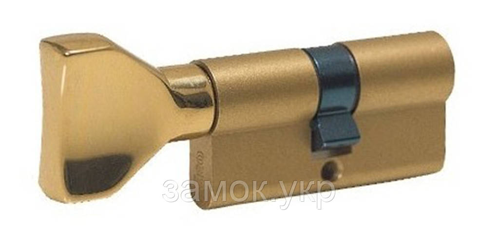 Iseo F5 95мм 35х60 ключ/тумблер латунь (Италия)