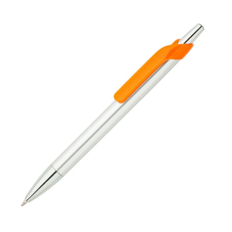 Ручка ber4400 пластиковая, оранжевая, от 100 шт