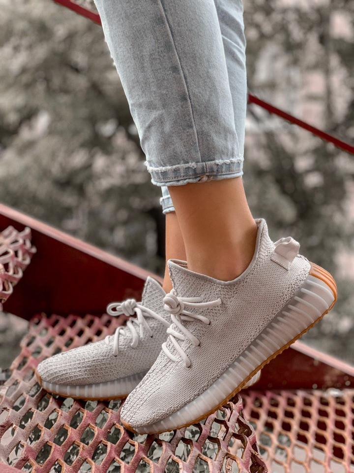 Жіночі кросівки Adidas Yeezy Boost 350 , Репліка