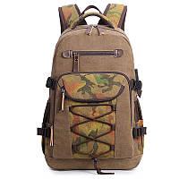 """Туристический рюкзак с USB портом и карманом для ноутбука до 17"""", 30л"""