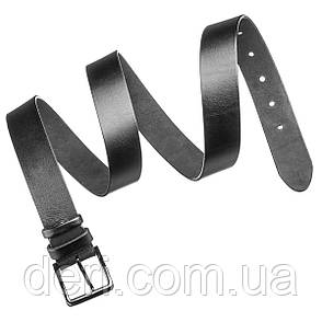 Ремень SHVIGEL мужской 17302 Черный, Черный, фото 2