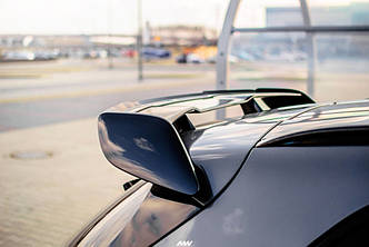 Спойлер Mercedes X156 GLA 45 AMG тюнинг