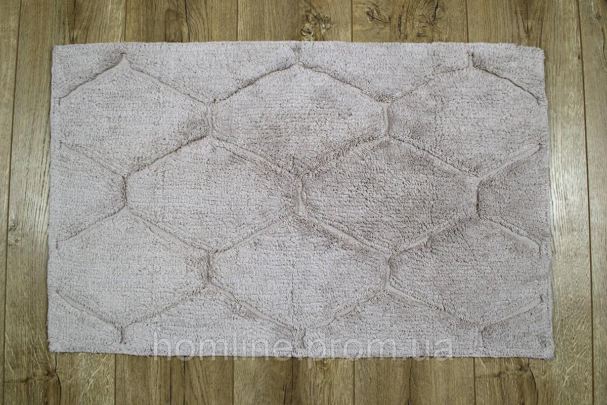Махровый коврик для ванной Irya Oliver bej бежевый 50*80