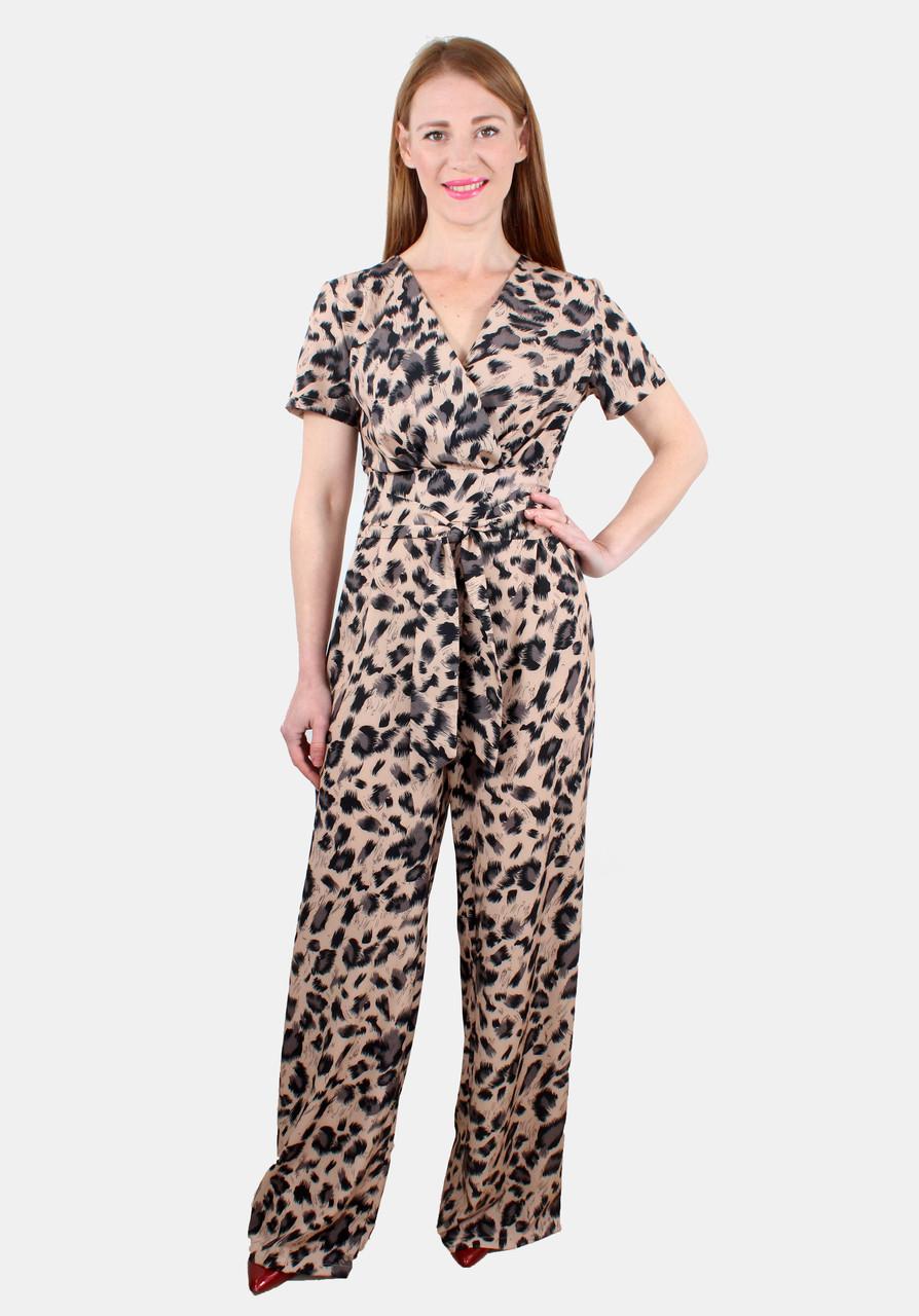 Комбинезон брючный леопардовый 44-50 р