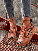 Женские кроссовки Nike Air Max 720 Gold, Реплика, фото 1