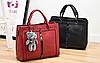 Женские кожаные сумки Черный, фото 8