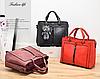 Женские кожаные сумки Серый, фото 3