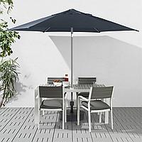 Садовый зонт с подставкой KUGGO / LINDOJA