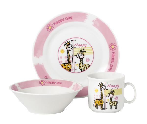 Набор посуды детск. Limited Edition HAPPY DAY 1 /НАБОР/ 3 пр. короб (D1210)