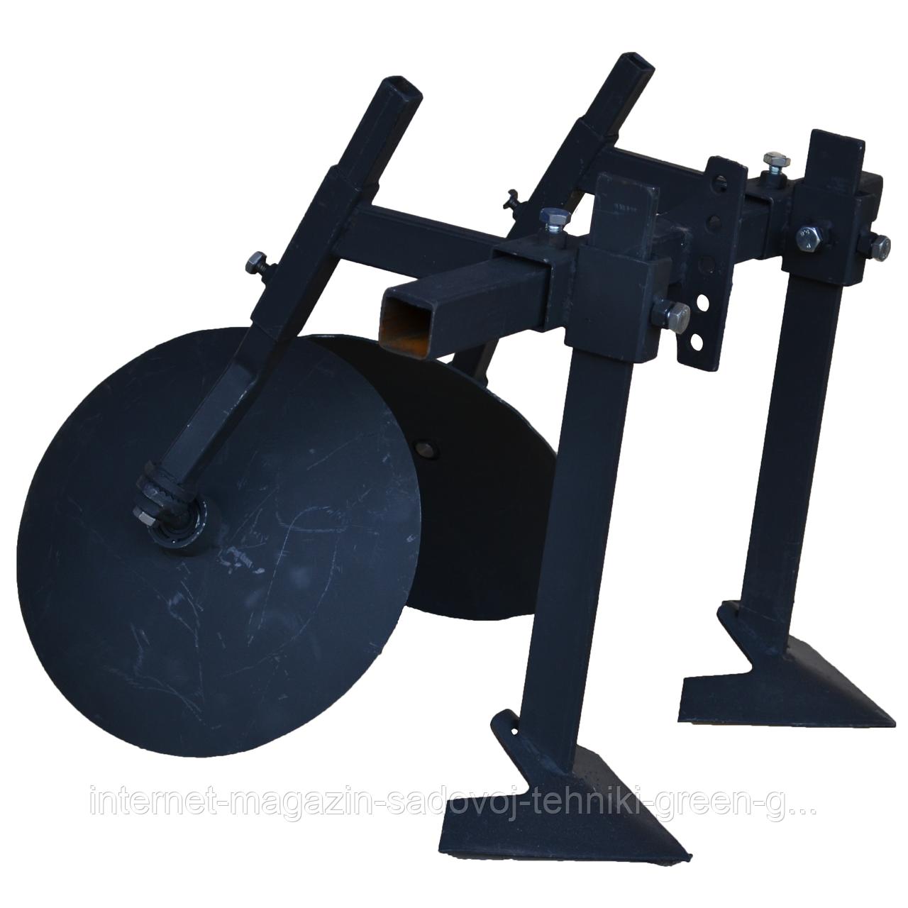Окучник-пропольник регулируемый Булат (Ø 340 мм, на подшипниках)