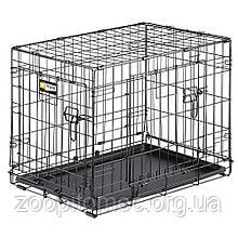 Вольєр клітка для собак Ferplast (Ферпласт) DOG INN 75 метал 77,4*48,5*54,6 см