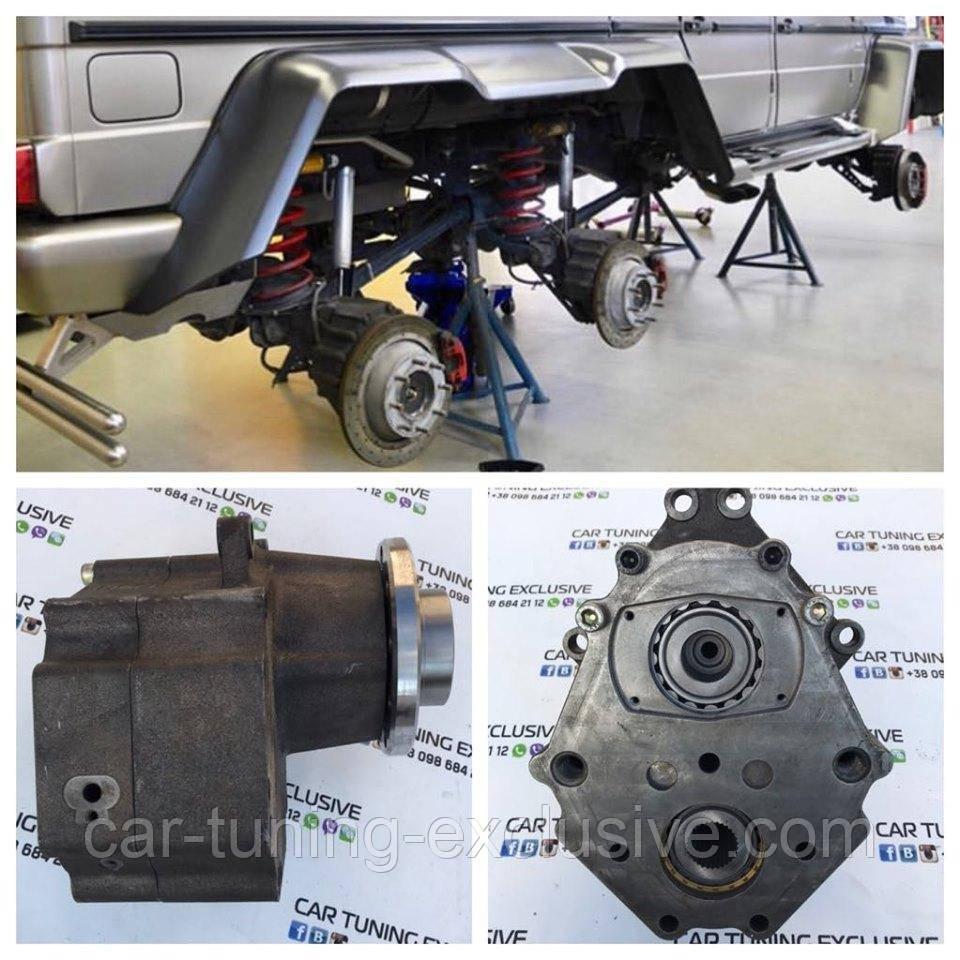 Portal axle conversion kit 6x6 for Mercedes G-class W463