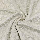 Плюш minky жемчужно-бежевого цвета М-67, фото 3