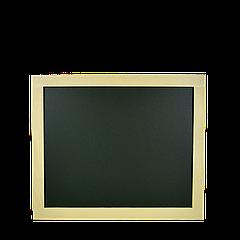 Доска меловая зелёная (в светлой рамке) 600*500