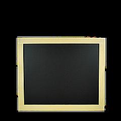 Доска меловая (в светлой рамке) 600*500