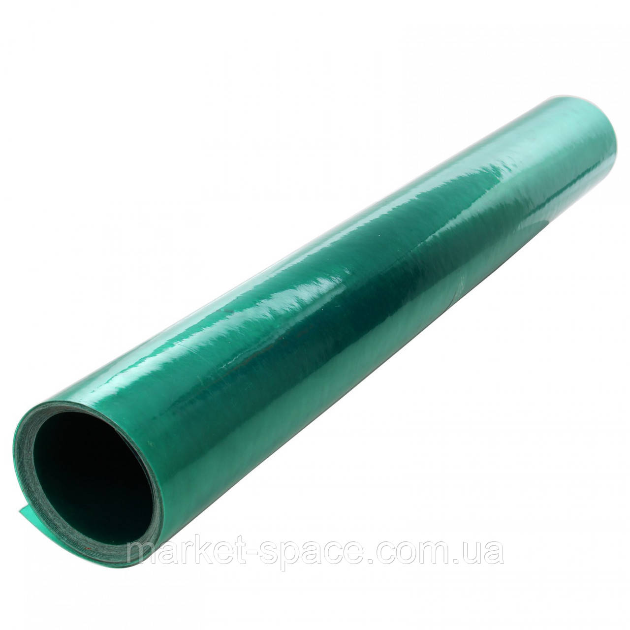 "Пластиковый шифер прямой ""Волнопласт"". Цвет: зеленый. Размер рулона: Д:20м*Ш:2м=40 кв.м"