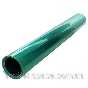 "Пластиковый шифер прямой ""Волнопласт"". Цвет: зеленый. Размер рулона: Д:20м*Ш:2м=40 кв.м, фото 2"