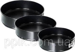 Набор форм для выпечки разъемных 24 см, 26 см, 28 см.