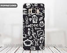 Силиконовый чехол для Apple Iphone 5_5s (Coffee Time), фото 3