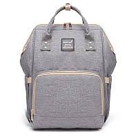 Женская сумка-рюкзак для мам Machine Bird с термокарманами и креплением на коляску, 18л