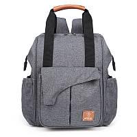 Женская сумка и рюкзак для мам Machine Bird с термокарманами и креплением на коляску, 20л