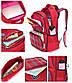 """Школьный рюкзак """"Лисенок"""" с сумочкой для карандашей на карабине, влагозащищенный, 18л, фото 9"""