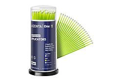 Мікроаплікатори Akzenta regular - 100 шт/уп, fresh green