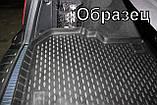 Коврик в багажник  MITSUBISHI Outlander 2012-2014 2014- кросс. с органайзером 1 шт. (полиуретан, фото 3