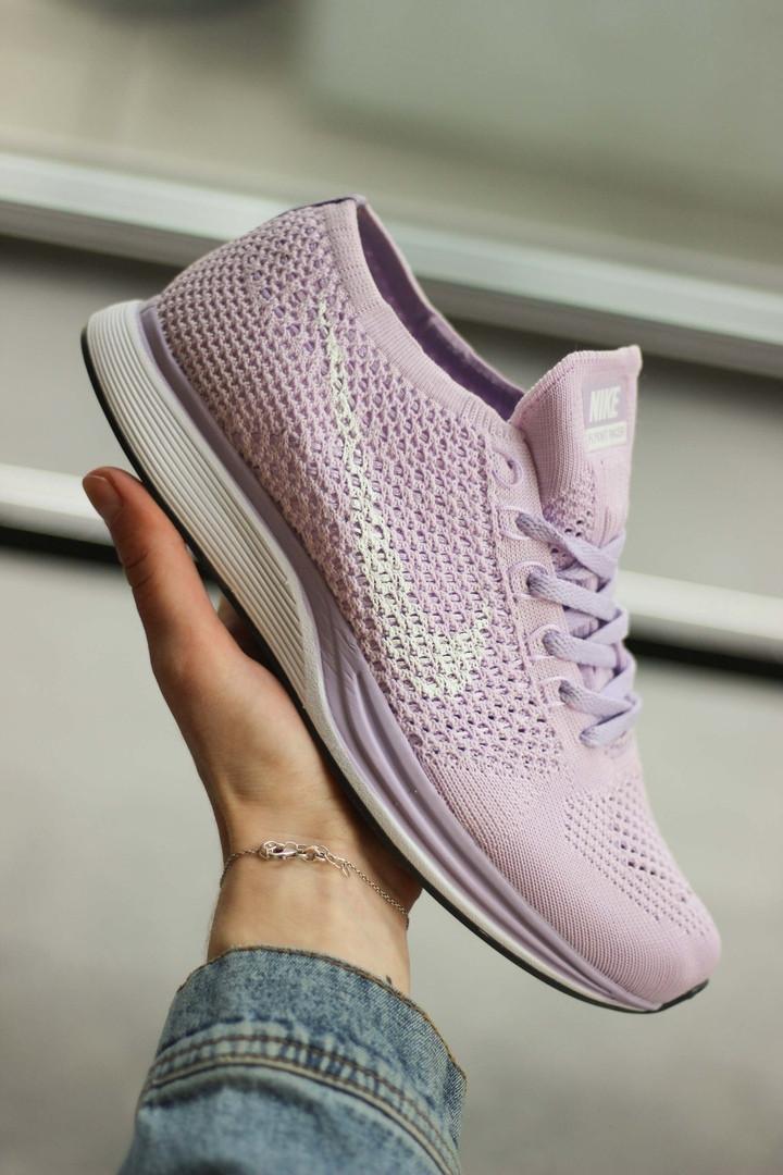 Женские кроссовки Nike Flyknit Racer, Реплика