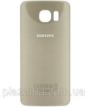 Задняя крышка Samsung G920F Galaxy S6, цвет золотой