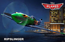 Рипслингер сборная модель из мультфильма «Самолеты». Дисней. Сборка без клея. ZVEZDA 2063, фото 2
