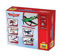 Рипслингер сборная модель из мультфильма «Самолеты». Дисней. Сборка без клея. ZVEZDA 2063, фото 3