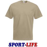 Мужская футболка под принт оптом FRUIT OF THE LOOM VALUEWEIGHT T Хаки, фото 1