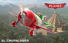 Эль Чупакабра сборная модель из мультфильма «Самолеты». Дисней. Сборка без клея. ZVEZDA 2064, фото 2