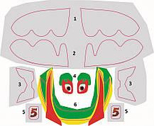 Эль Чупакабра сборная модель из мультфильма «Самолеты». Дисней. Сборка без клея. ZVEZDA 2064, фото 3