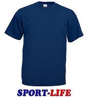 Мужская футболка оптом FRUIT OF THE LOOM VALUEWEIGHT T Темно-синяя