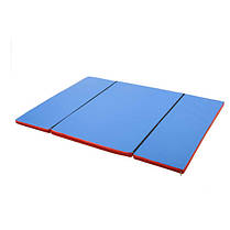 Гімнастичний мат складний Мат доміно 120х160х4 см, фото 2
