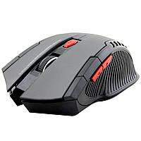➨Игровая радио мышь FANTECH W4 (W529) Серая c дополнительными кнопками компьютерная оптическая USB коннектор