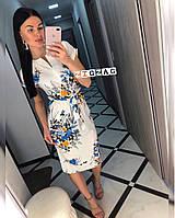 Лёгкое летнее платье по фигурке