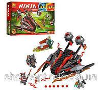 Конструктор Ninja Ниндзя Алый захватчик: 331 деталей, 3 фигурки, фото 1