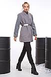 2071 пальто-бомбер Вади, серый (42-44), фото 2