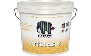 Capadecor ArteLasur 2,5л  настенная лазурь на акрилатной основе с белыми частичками.