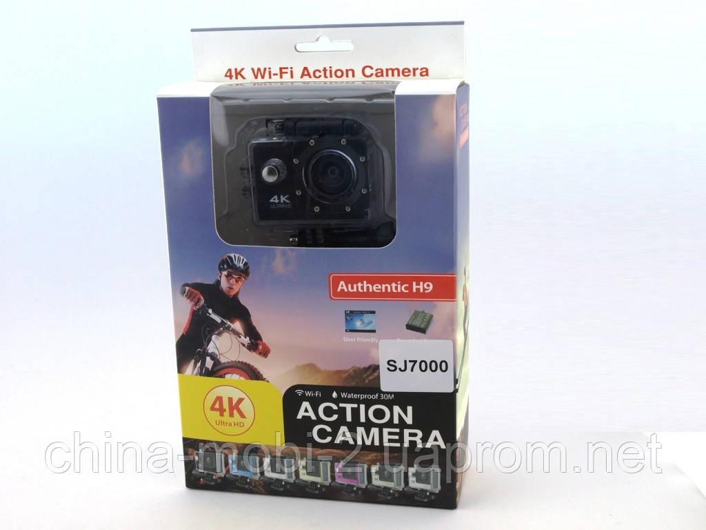 SJ7000 Authentic H9 Action Camera экшн-камера регистратор DVR Wi-Fi 4K IP68