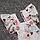 Детский 68-74 3-7 мес ромпер боди с крылышками летний для девочки новорожденных малышей из САТИН 4717 Белый, фото 3