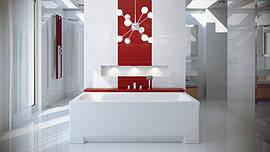 Акриловая ванна Optima 160х70 Besco PMD Piramida