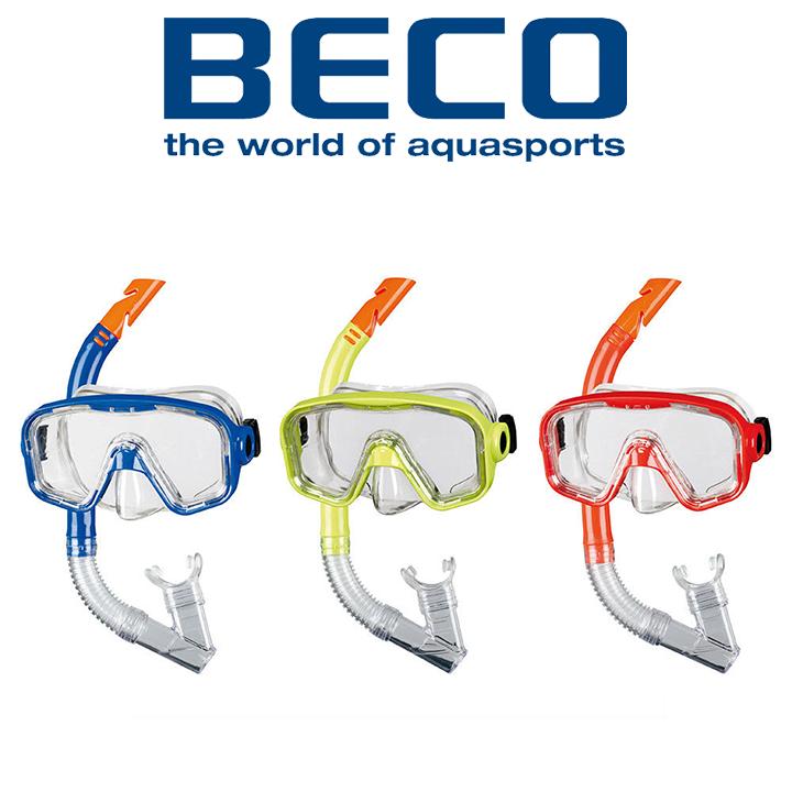 Маска и трубка для плавания BECO 99006 (12+)