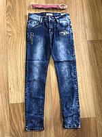 Джинсовые брюки для девочек оптом, Seagull, 116-146 рр., Арт. CSQ-88866