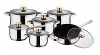 Набор посуды Wellberg 12 предметов (WB-1105) Bergner
