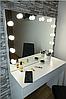 Рабочее место с подсветкой и лампами в зеркале на 1 шухляду М612, фото 2